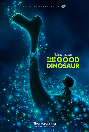 The Good Dinosaur Theatrical Poster