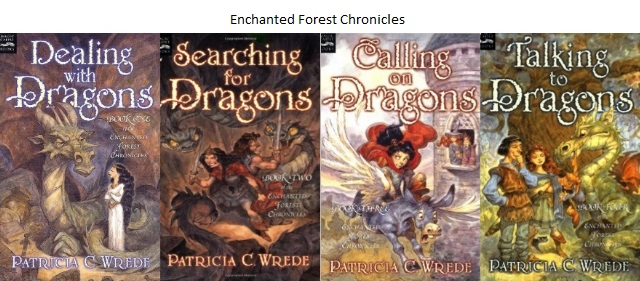 Enchanted Forest Chronicles Covers
