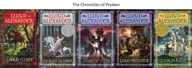 The Chronicles of Prydain Covers