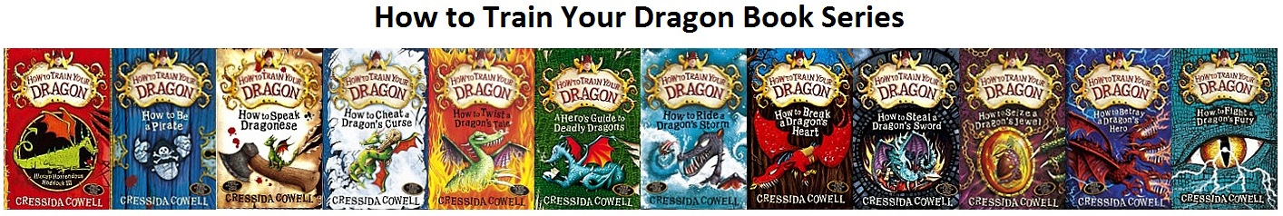 How to Train Your Dragon Book Series