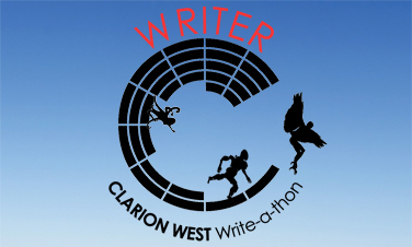 Clarion West Write-a-thon Badge