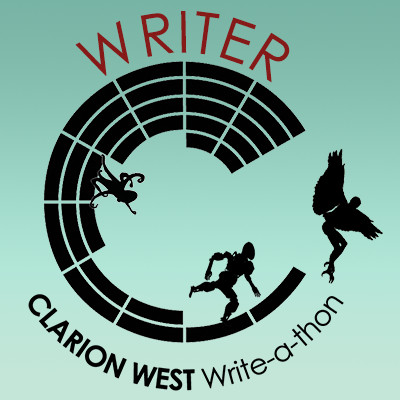 Clarion West Write-a-thon Badge_2021